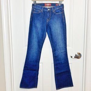Lucky Brand Sofie Boot Cut Wide Leg Jeans G41